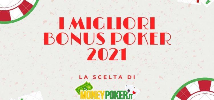 I migliori bonus poker 2021 senza deposito e codici di benvenuto